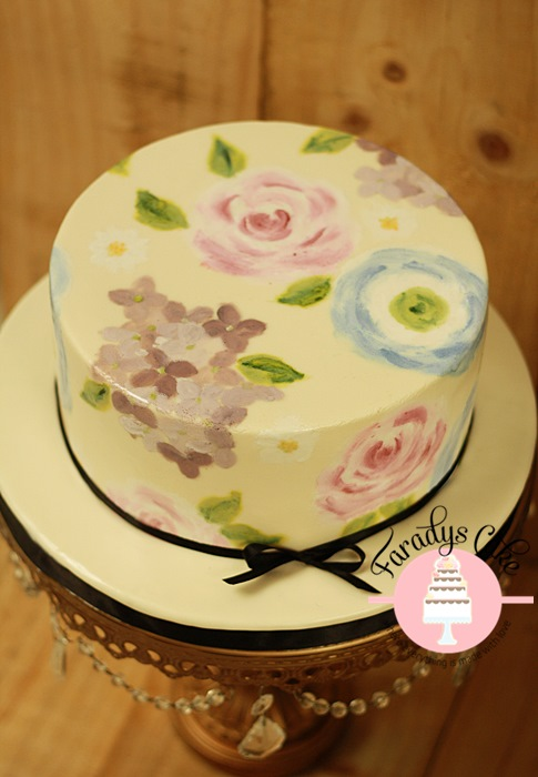 Hand Painted Cake Class