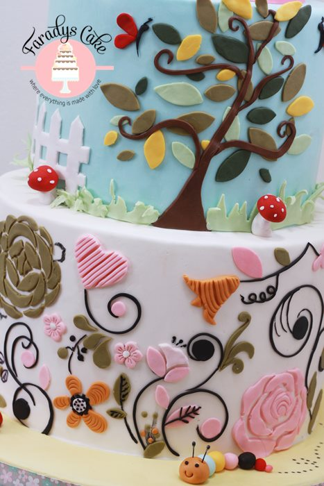 garden cake zoom