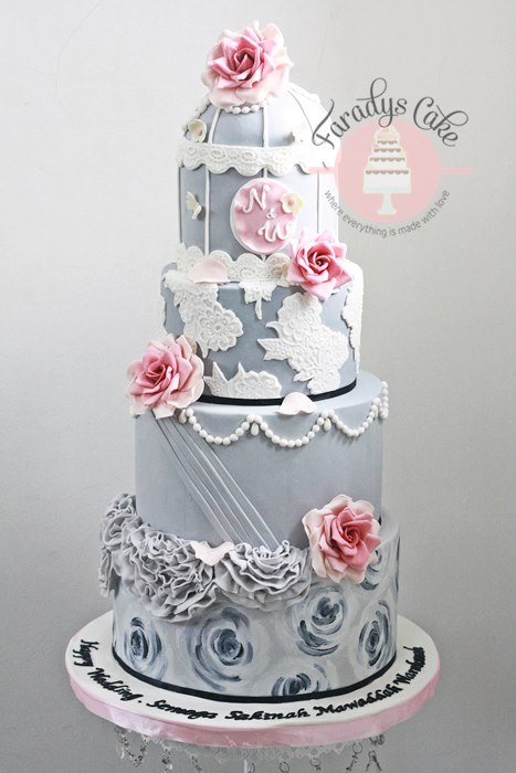 Kue Wedding Cake Precious Moments Toppers Picture