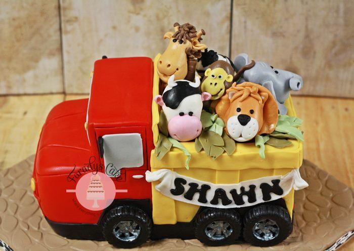 #Animal #Truck #Cake