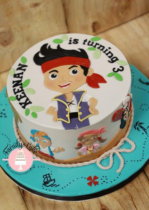 #Jack #Pirate #Cake