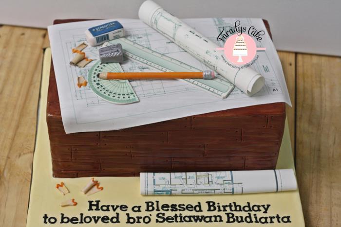 #architect #cake