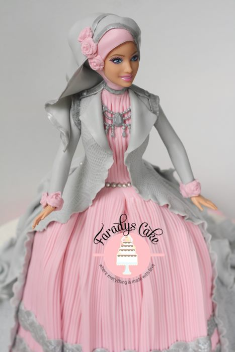 #davina #princess #doll #cake #muslimah #moslem resize
