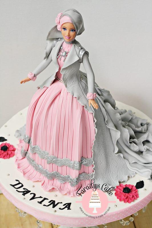 #davina #princess #doll #cake resize