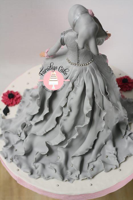 #princess #moslem $muslimah #hijab #cake