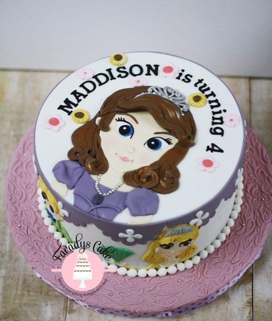 #sofia #princess #2D #cake