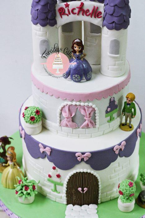 #sofira #cake zoom resize